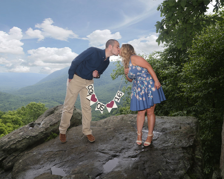 Engagement Session At Ohiopyle